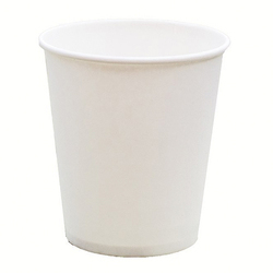 250ml Disposable White Paper Cup