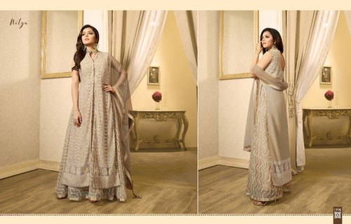 e414e726a3 Lt Nitya Designer Semi-Stitched Suits, Rs 3390 /piece, Vishwam ...