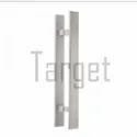 GLASS DOOR HANDLE- H Rectangular Shape Glass Door Handle