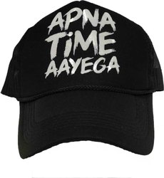 318a0d41 Printed Netted Mesh Cap - Apna Time Ayega Netted Cap, Gully Boy Caps ...
