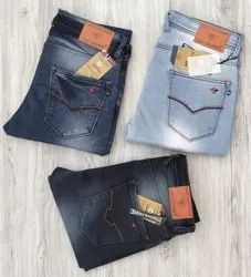 Faded Slim Fit Mens Jeans