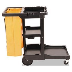 Plastic Janitor Cart