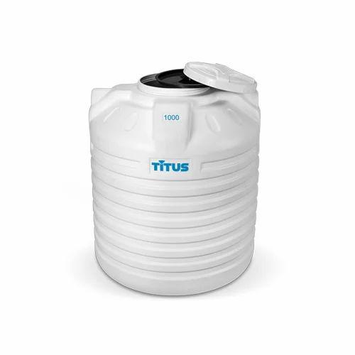 White Plastic Titus Water Tank
