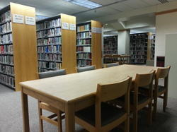 Library Wooden Table