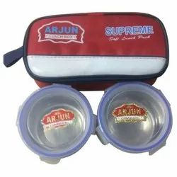 Arjun Supreme Steel Lunch Box For School, Offices