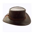 Tm Exports Brown Mens Pure Leather Hat