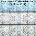Cotton 60x60 Carbon Finish (Z Plus D.T) Fabric