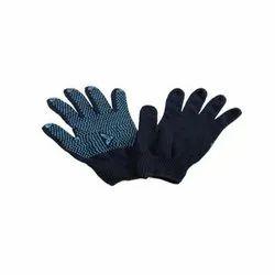 Blue Mallcom Dotted Gloves