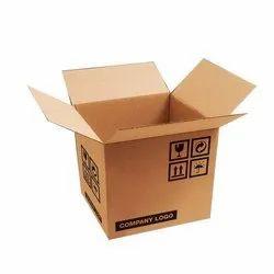Square 7 Ply Corrugated Shipping Box, Box Capacity: 11-20 Kg