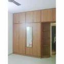 Wall Wooden Polished Wardrobe