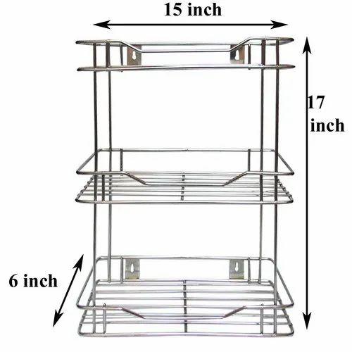 stainless steel spice racks