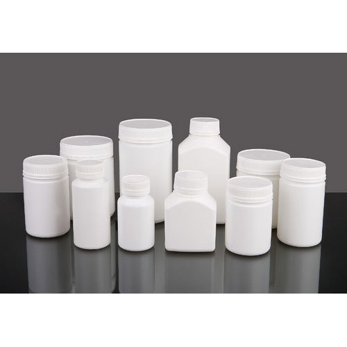 Protein Powder HDPE Plastic Bottle, for Pharmaceutical, Screw Cap