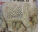 Soapstone Elephant Home Decorative