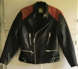 Full Sleeve Pure Leather Mens Casual Wear Leather Jacket