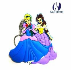 Wah Notion PVC Keyring Angels Chains For Kids Birthday Party Return Gift