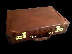 Genuine Leather Expendable Attache