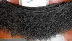 100% Natural Indian Human Machine Weft Curly Hair Whole Sale Hair King Review