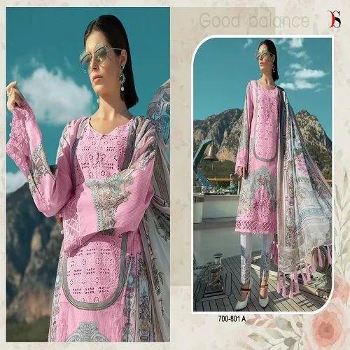 f77e4759e2 Embroidered Deepsy Maria B -19 Platinum Pakistani Suits, Rs 899 ...