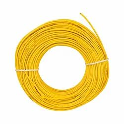 1 To 5 Mm Color: Yellow PVC Insulated House Wire, 90m