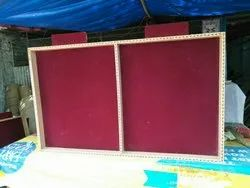 Notice board with Plywood frame