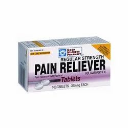 Acetaminophen Pain Reliever Fever Reducer Tablets