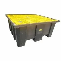 Ercon Industrial Four Drum Pallet