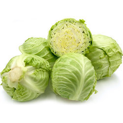 Green Cabbage, Packaging: Plastic Bag or Polythene