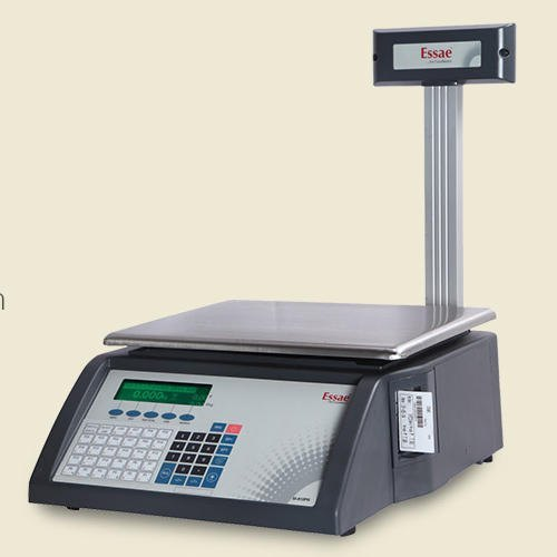 Essae Barcode Label Printer Scale, Accuracy: 5 g, Model Name/Number: SI 810 LPR