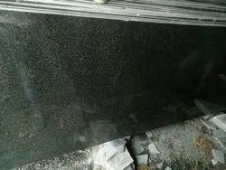 Natural Stone South India Indian Black Pearl Granite, Slab, Thickness: 18mm
