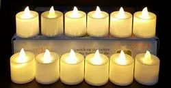 Warm White Cylindrical Sanvatsar Electric Deepak/ Candle/ Electric Candle/ Diwali Decoration