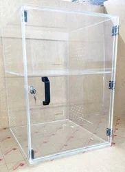 Acrylic Box With Handle & Lock