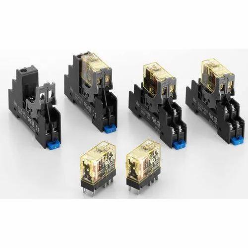 Rj/sj Series Slim Power Relay Socket