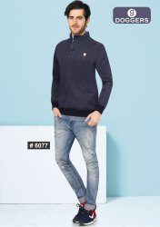 Men's Half Zipper Sweat Shirt