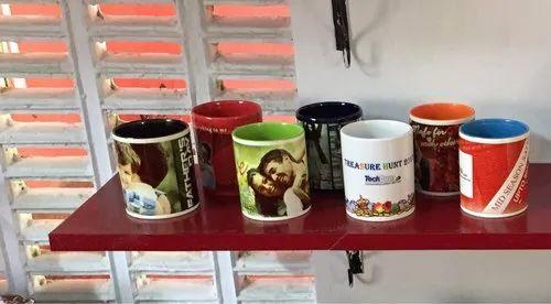 Corner Joy Sublimation Personalized Printed Mugs