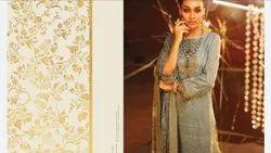 Pakistani Alkram Festive Luxury Lawn Collection