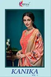 Kesari Trendz Kanika Vol-1 Pashmina Winter Dress Material Catalog