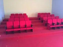 Kids Red Auditorium Chair
