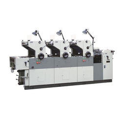 Three Color Offset Machine