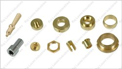 Stainless Steel Brass Turned Components, For Industries, Packaging Type: Box
