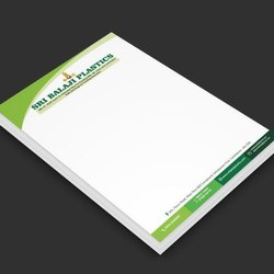 100 GSM JK Bond Letter Head Without Pad (210 X 280 MM)