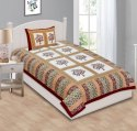 Rajasthani Print Single Cotton Bedsheets