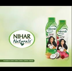 Herbal Hair Growth Nihar Naturals Coconut Hair Oil