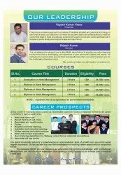 Diploma/degree In Hotel Management