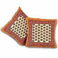 Handblock Cotton Cushion Cover 313