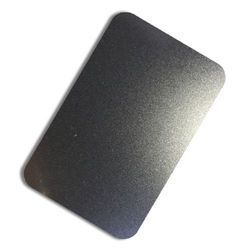 Leather Black Texture Stainless Steel Sheet