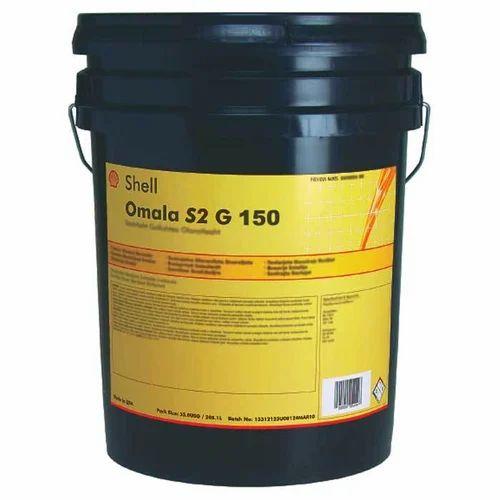 Shell Omala S2 G 150, Packaging Type: Bucket/Barrel