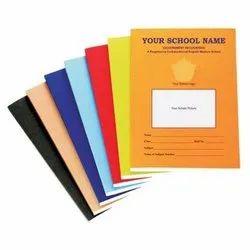 Single Line Hard Bound school notebook