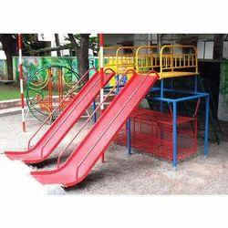 School Playground Slide