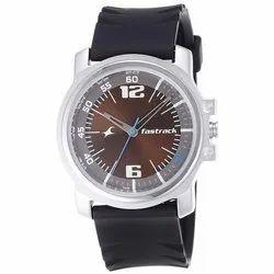 Fastrack Round Sports Mens Wrist Watch