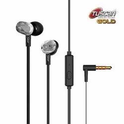 Tuscan Ear Plug Black Mobile Earphone